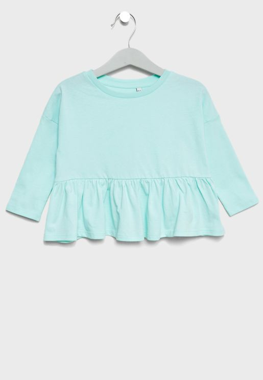 Little Frill Hem Top
