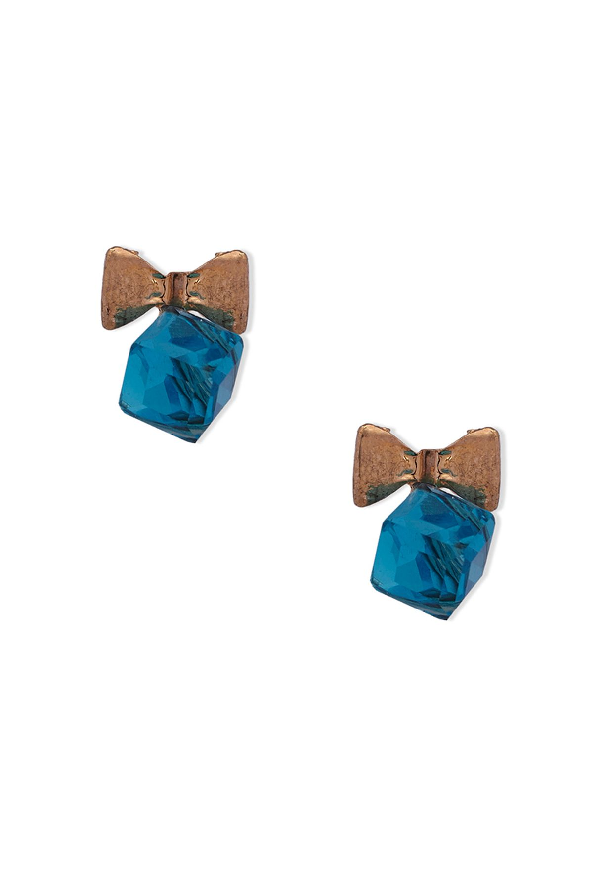 6efd8d50ed2d Shop Ginger blue Crystal Studs for Women in Qatar - GI121AC59VBO
