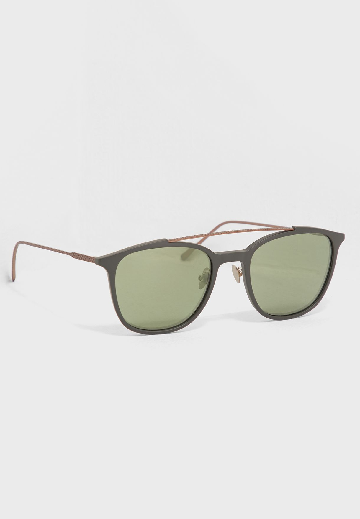 6dad40187038e Shop Lacoste green Wayfarer Sunglasses L880S-317 for Men in UAE ...