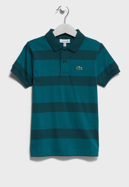 Little Striped Polo