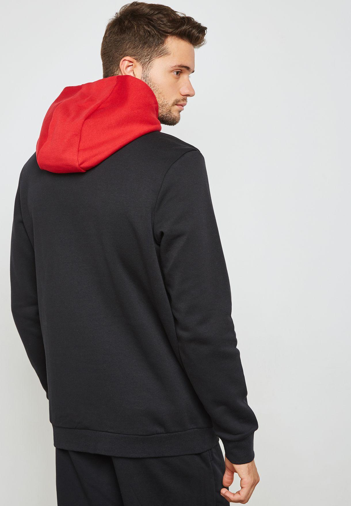 7826ca06c8cc Shop Nike black Jordan Jumpman Air Hoodie AA1451-010 for Men in UAE ...