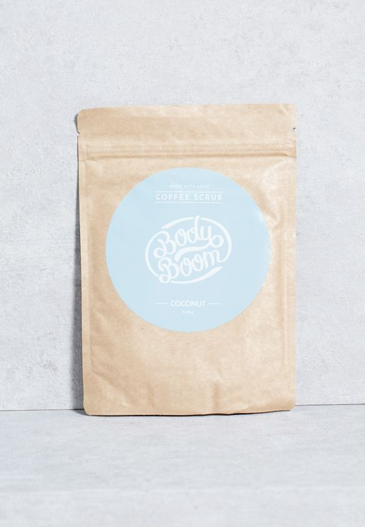 Coffee Scrub - Coconut