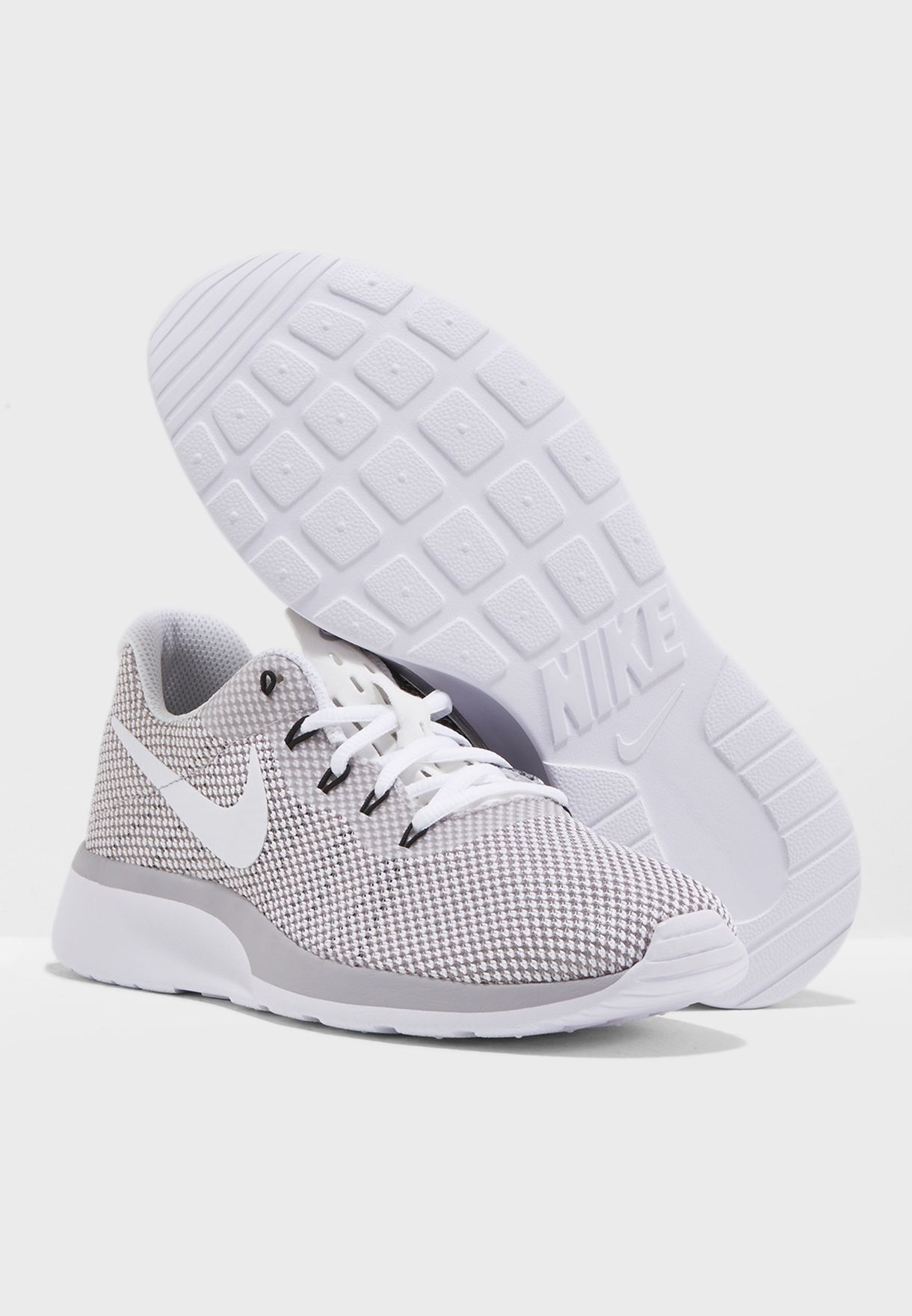 0d520d51988f33 Shop Nike monochrome Tanjun Racer 921668-102 for Women in UAE ...