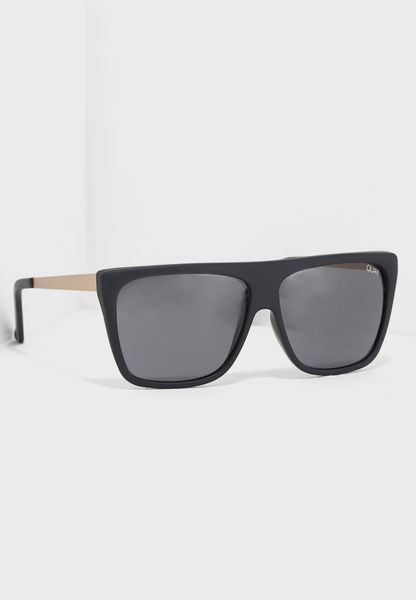Quay X Desi Oversized Sunglasses