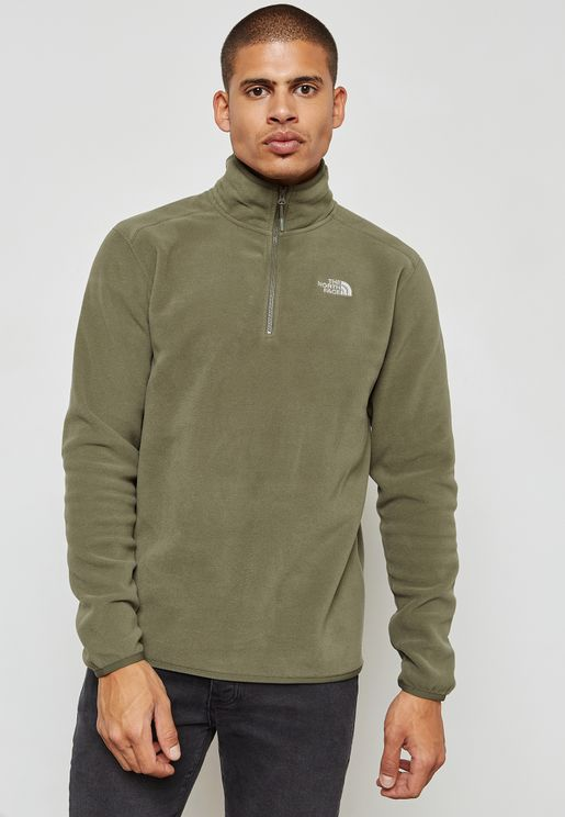 Glacier 1/4 Zip Sweatshirt