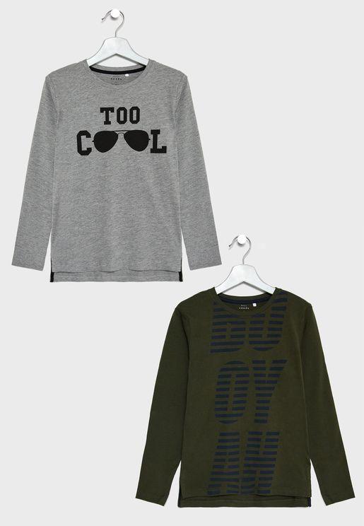 Teen 2 Pack T-Shirts