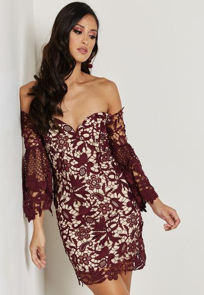 Bandeau Lace Dress