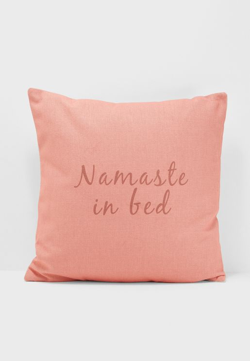 Namaste In Bed Cushion Insert Included