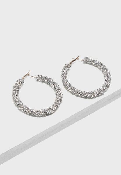 Dropped Stone Earrings