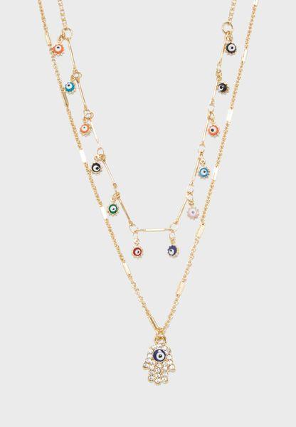 Borofsky Layered Necklace