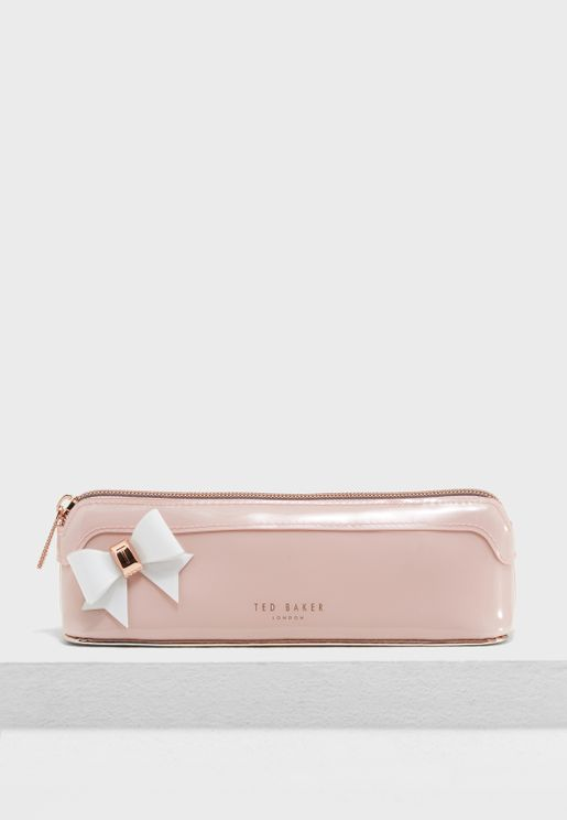 Everlee Bow Detail Pencil Case