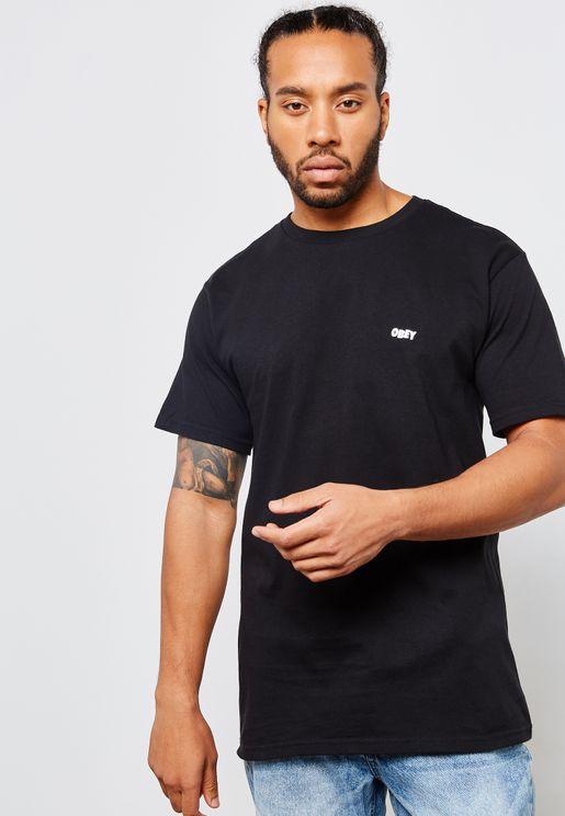 Obey Jumble Print T-Shirt