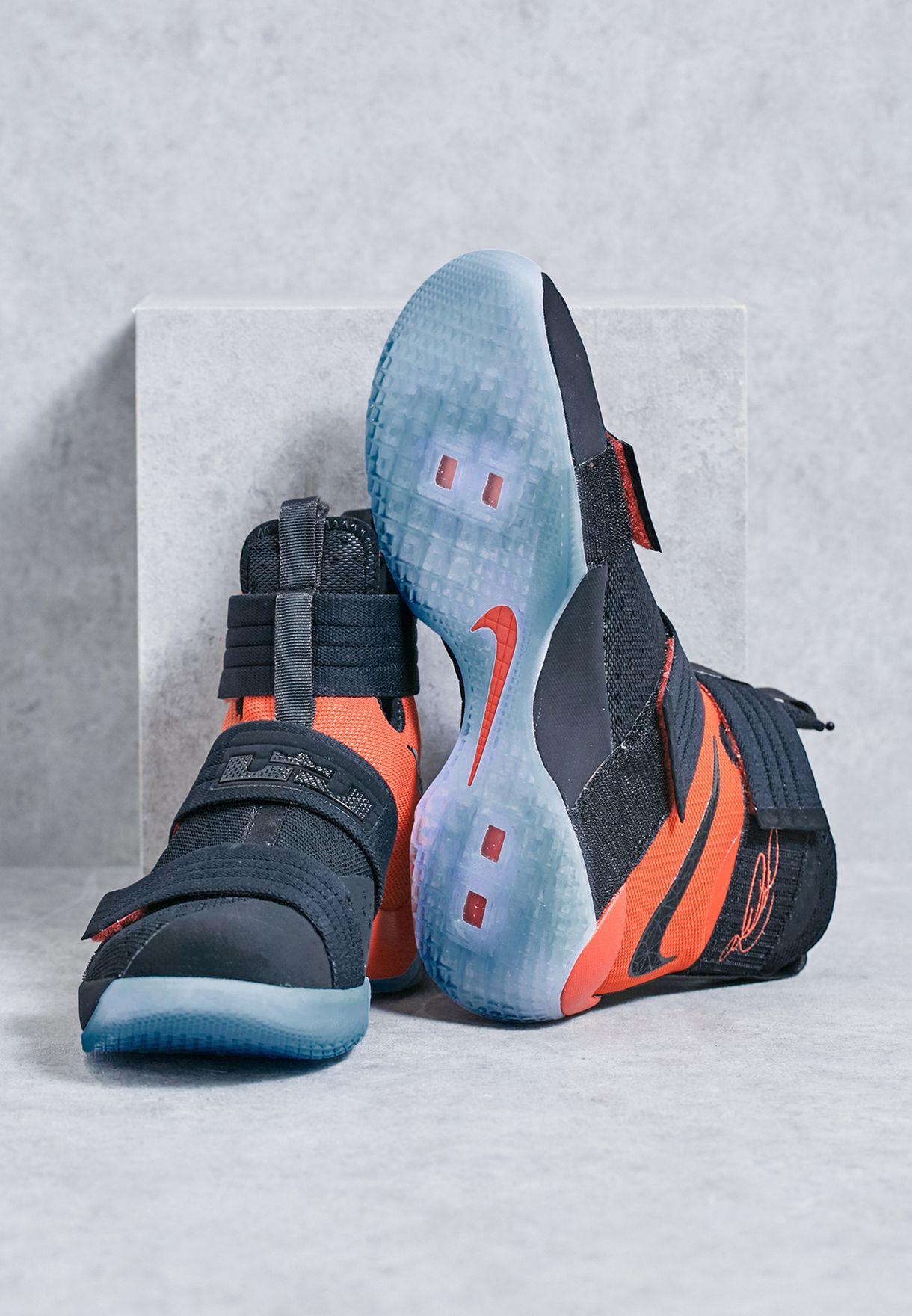 1c5b4b8d659f Shop Nike black LEBRON SOLDIER 10 SFG 844378-006 for Men in Saudi ...