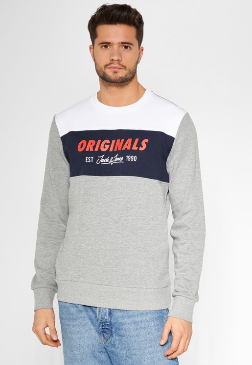 Shakedowns  Colour Block Sweatshirt