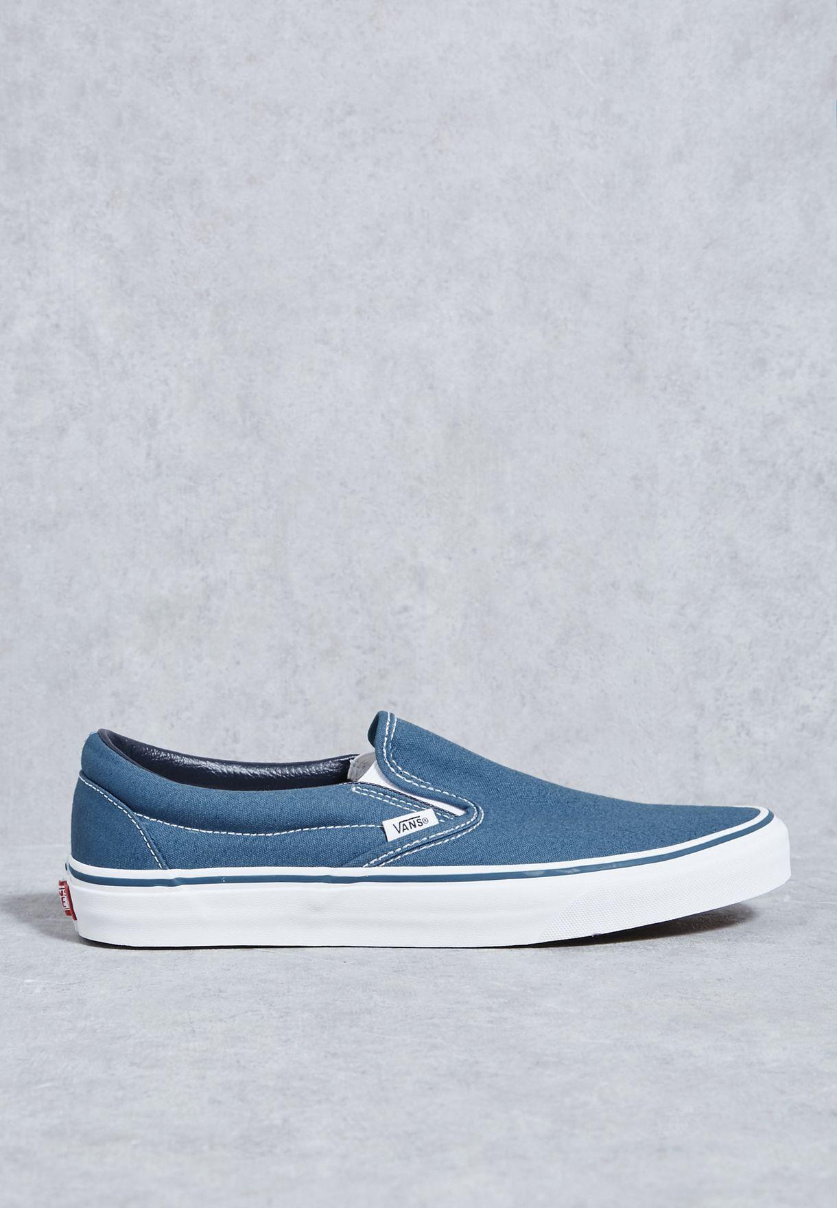 44004da6fc01a2 Shop Vans blue Classic Slip Ons for Men in UAE - VA088SH59VNC