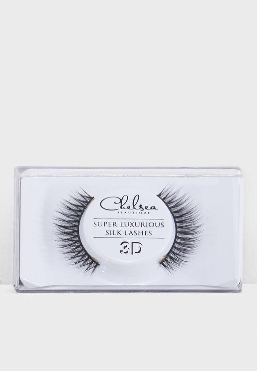3D Silk Strip Lashes - Gabriella