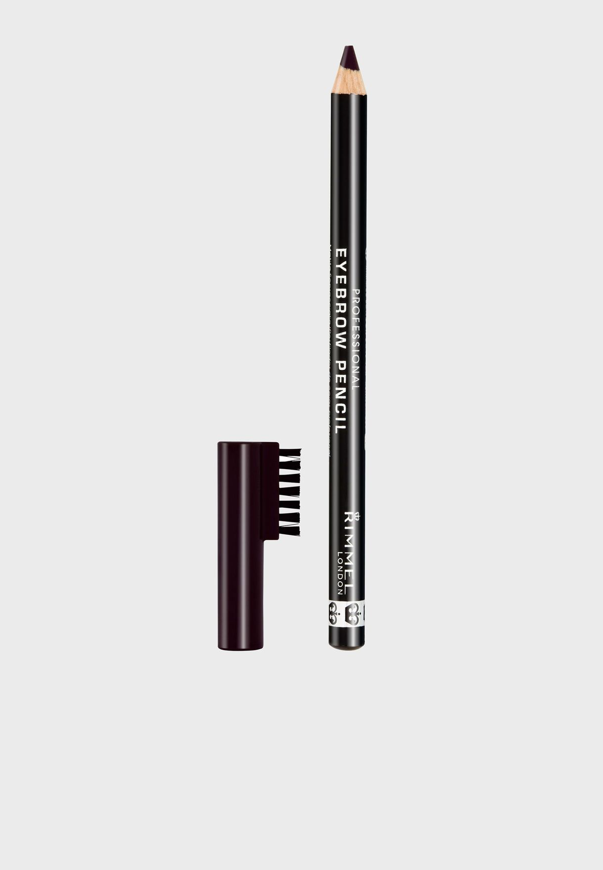 Shop Rimmel London Browns Professional Eyebrow Pencil 004 Black