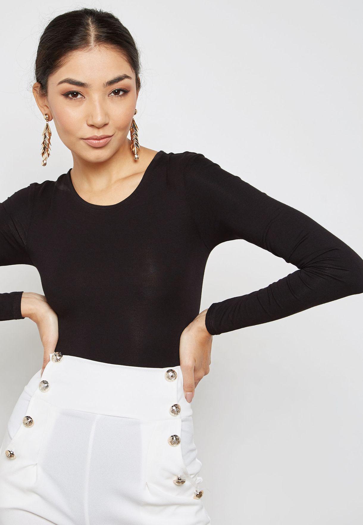 Lattice Back Bodysuit