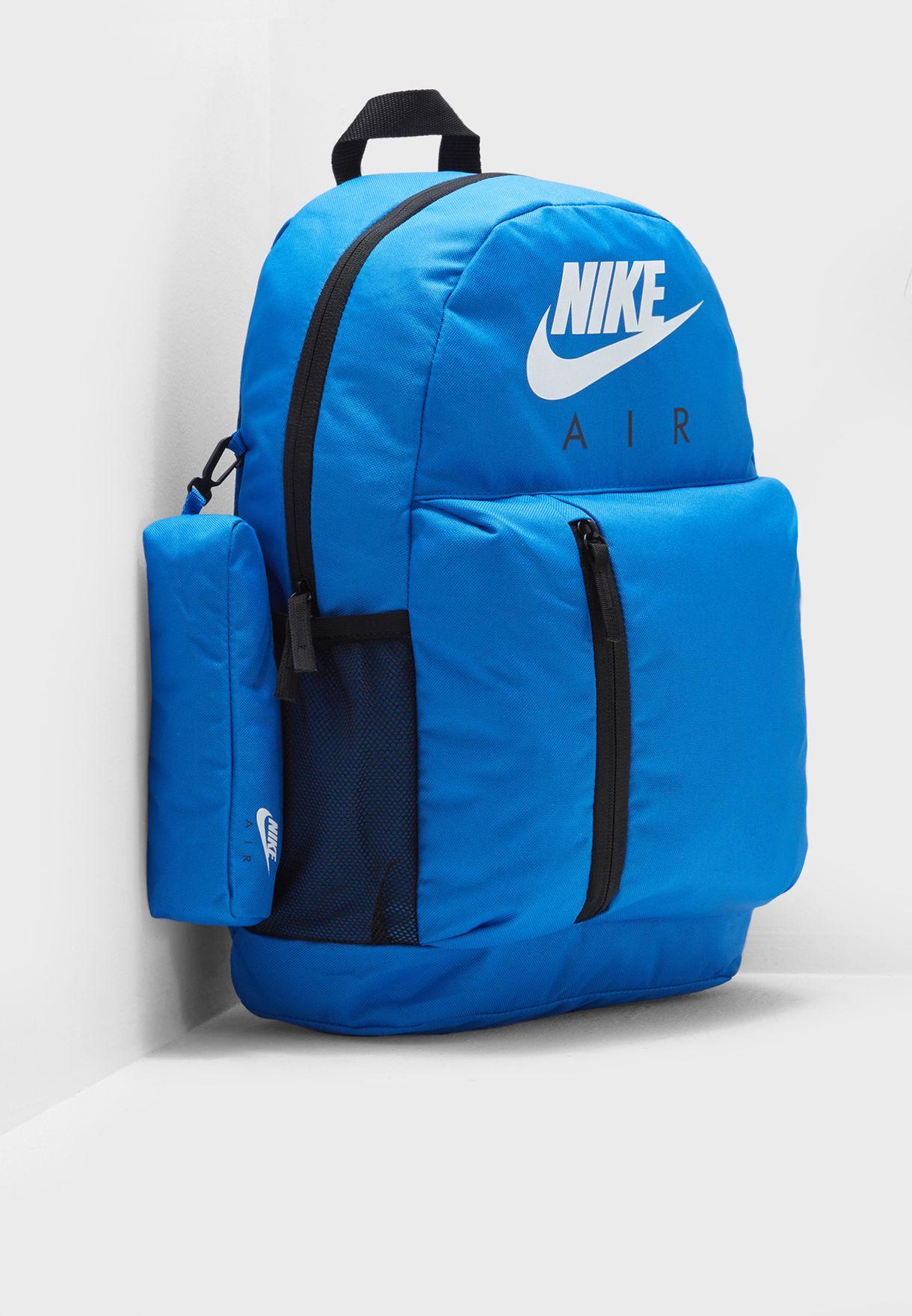 ab20da9c4c3f Shop Nike blue Elemental Backpack BA5767-403 for Kids in Kuwait -  NI727AC59CNC