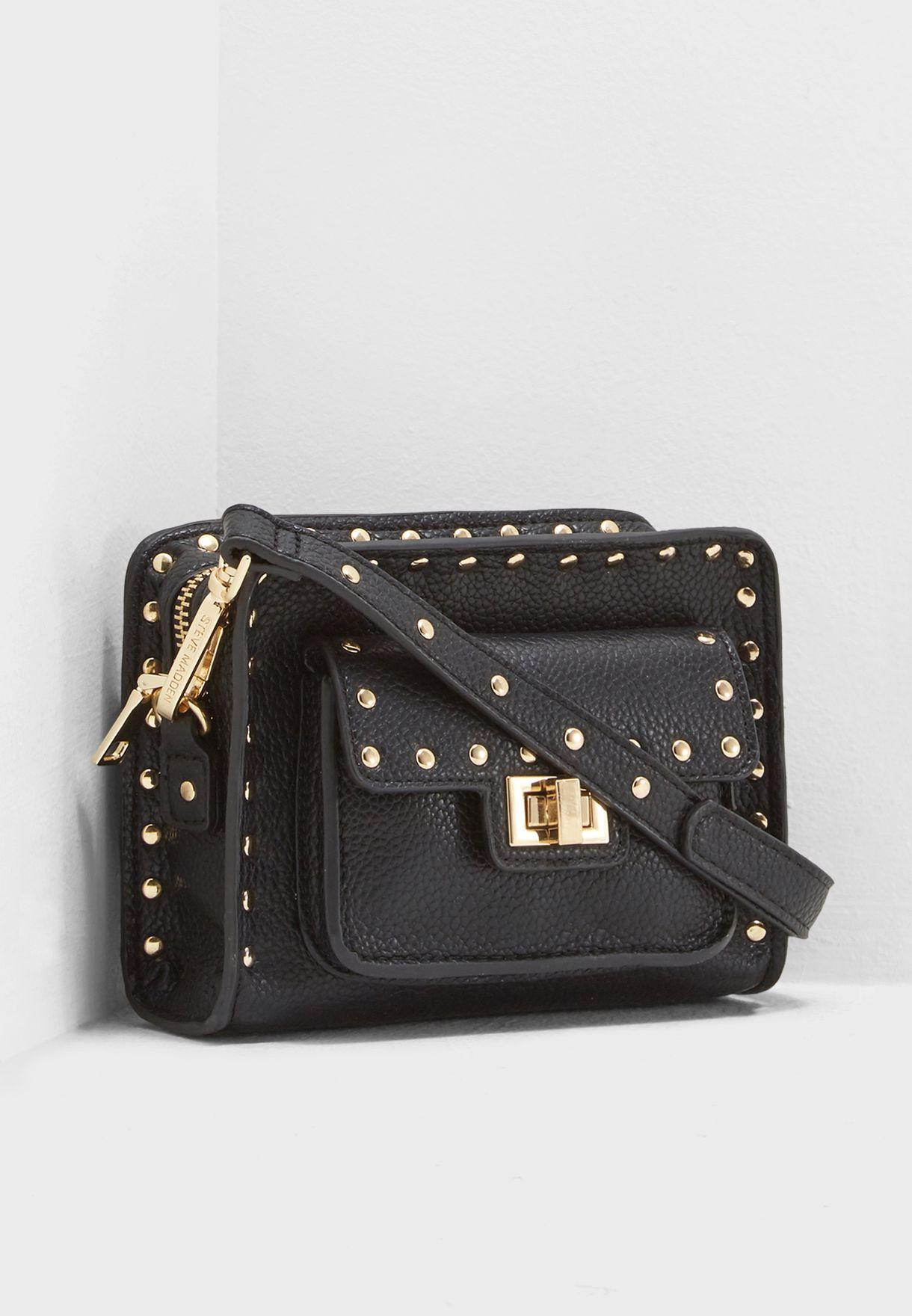 e27a7ba45f Shop Steve Madden black Studded Valentino Crossbody BJANA for Women ...