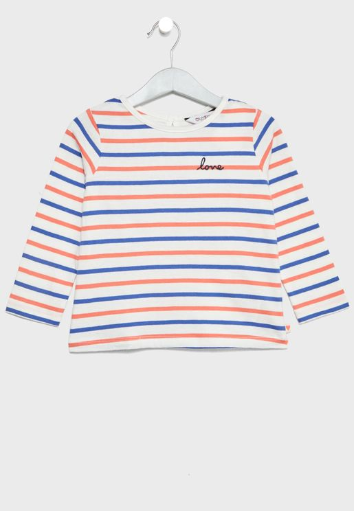 Infant Striped Top