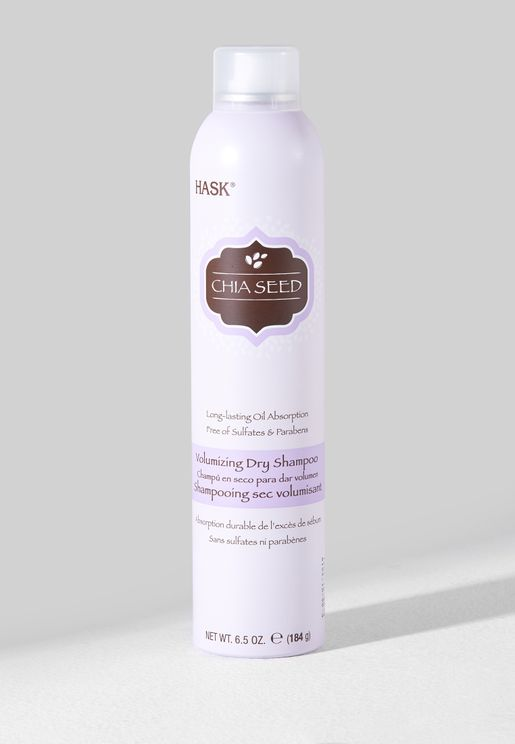 Chia Seed Volumizing Dry Shampoo - 184Gm