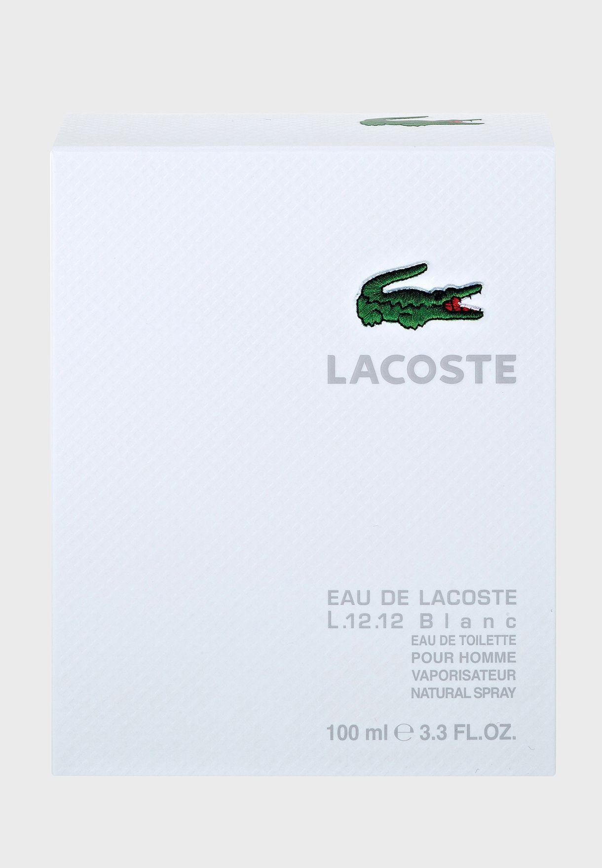 L.12.12 Pour Lui Blanc - 100Ml Edt