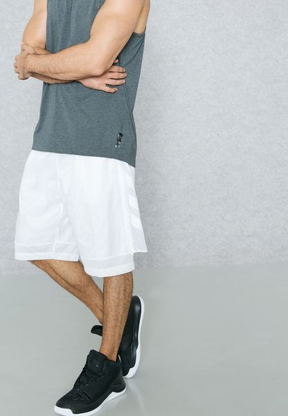 Shop adidas white Harden Playmaker Shorts AZ4045 for Men in Globally -  AD476AT49HRM