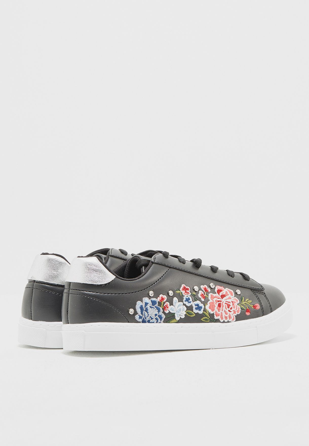 Floral Embroidery Sneaker