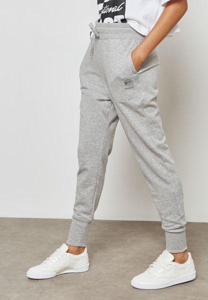 High Waist Cuffed Sweatpants