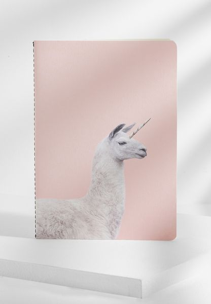 A5 Unicorn Llama Notebook