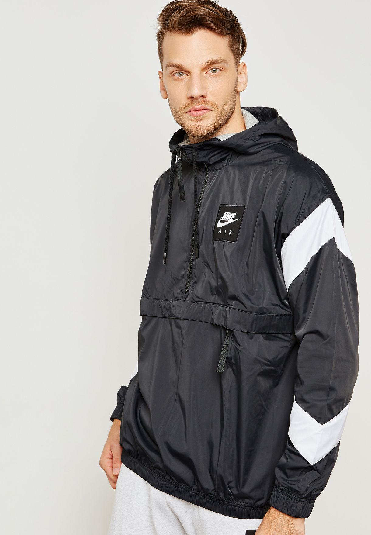 a801e670efe8 Shop Nike black Air Hooded Jacket 932137-010 for Men in Saudi ...