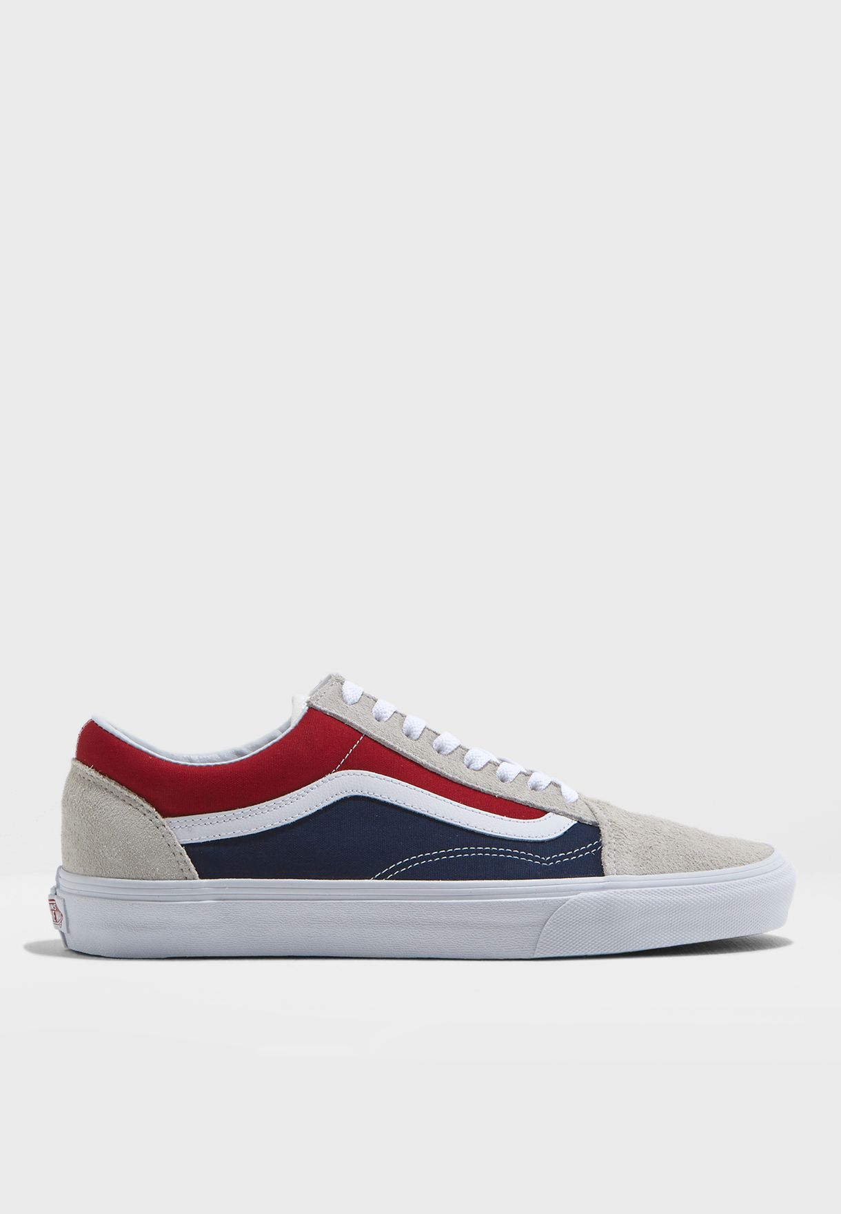 d95d5621c235 Shop Vans multicolor Retro Block Old Skool Sneakers 8G1QKN for Men ...