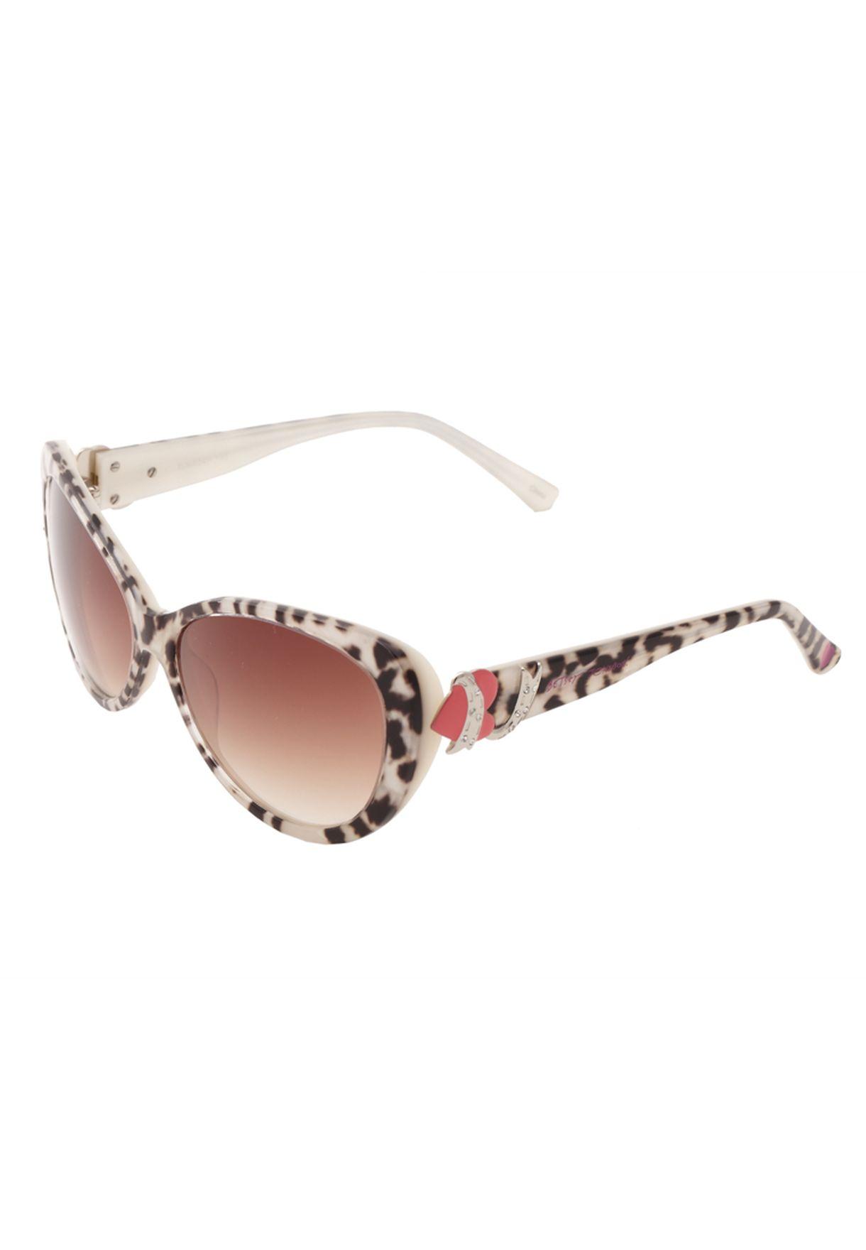 12e6b9d3f541 Shop Betsey Johnson animalprint Trendy Sunglasses for Women in ...