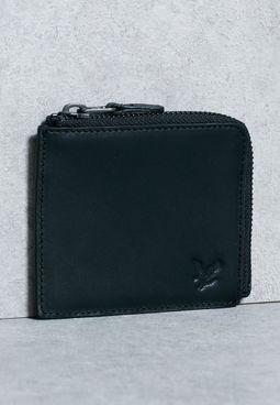 Half Zip Wallet