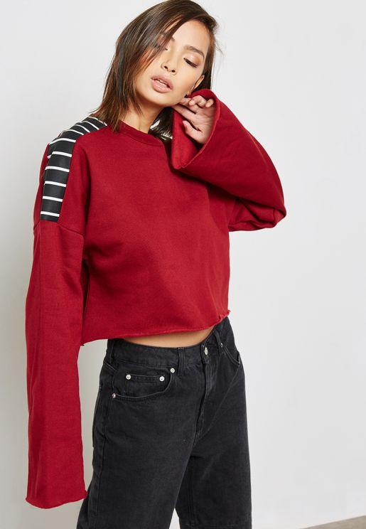 Wide Sleeve Sweatshirt
