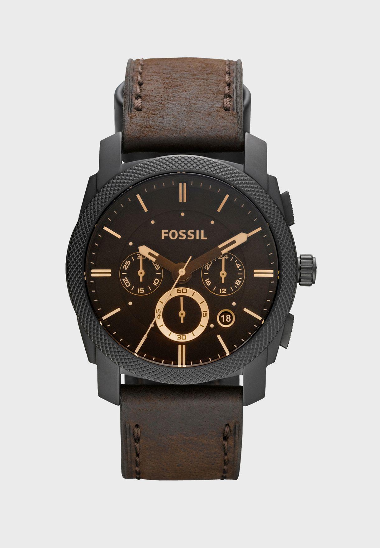 d08b1f62a4d1e تسوق ساعة جلد اصلي ماركة فوسيل لون browns FS4656 في السعودية ...