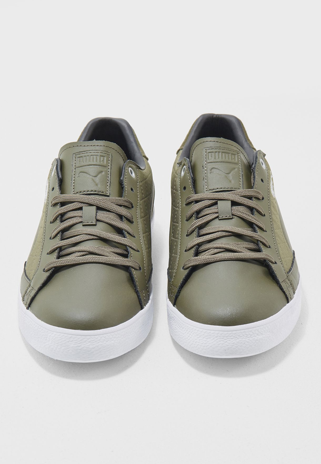 ff3cfebfeea4d Shop PUMA green Match Vulc 2 Quilted 36388601 for Men in Saudi ...