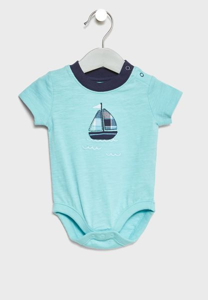 Infant Sailboat Bodysuit