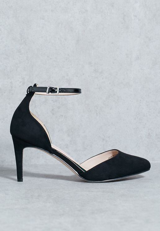 Ayona Ankle Strap Pumps