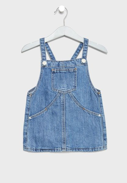 Infant Elva Dungaree Dress