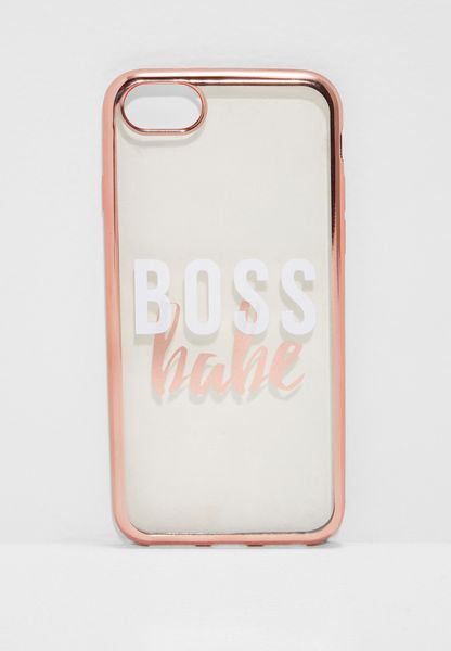 Boss Babe iPhone 6/7/8 Hybrid Case