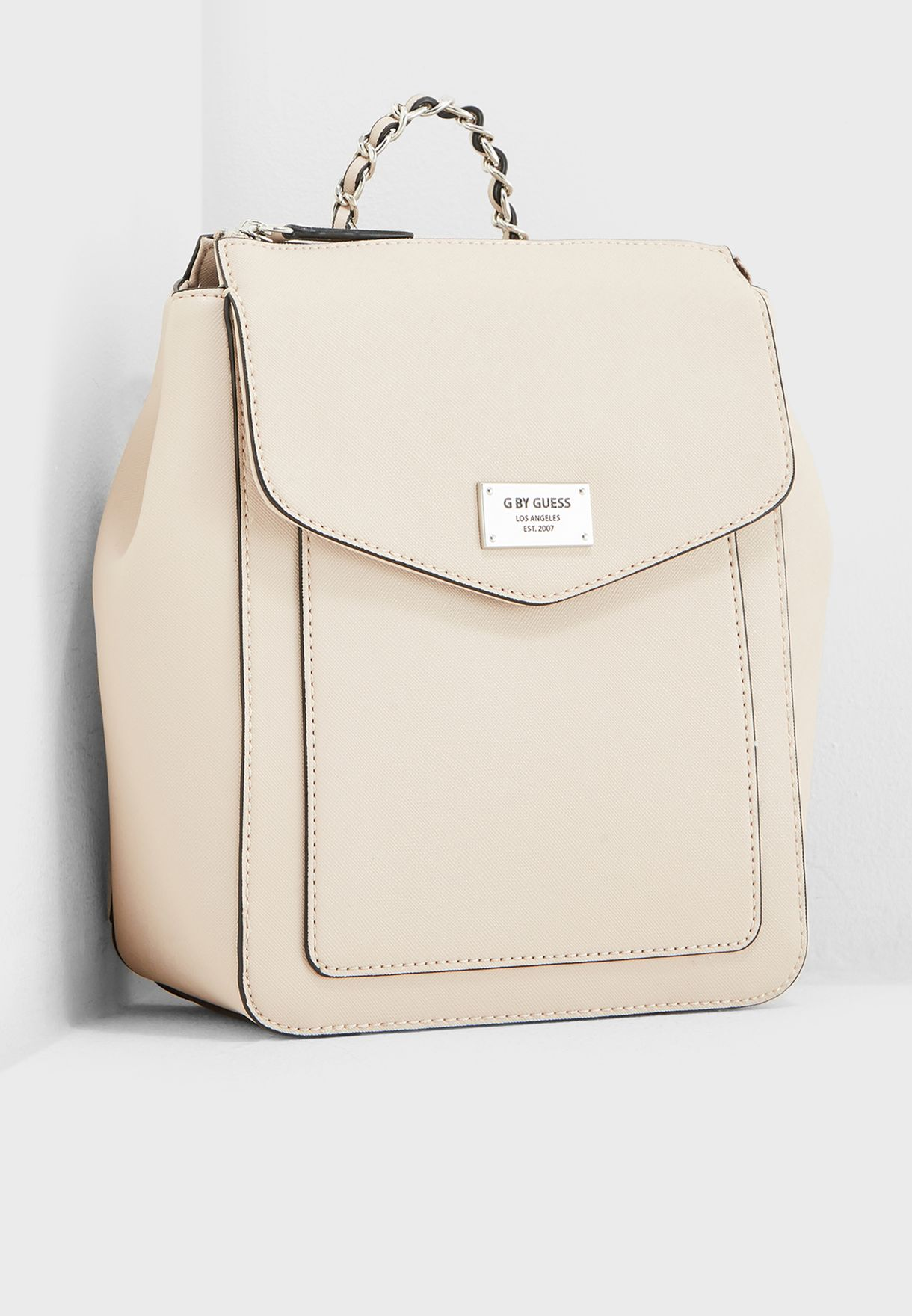 a2ccb140a1 Shop G By Guess pink Connely Top Zip Backpack VY135029 for Women in ...
