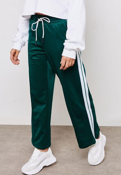 Side Paneled Sweatpants