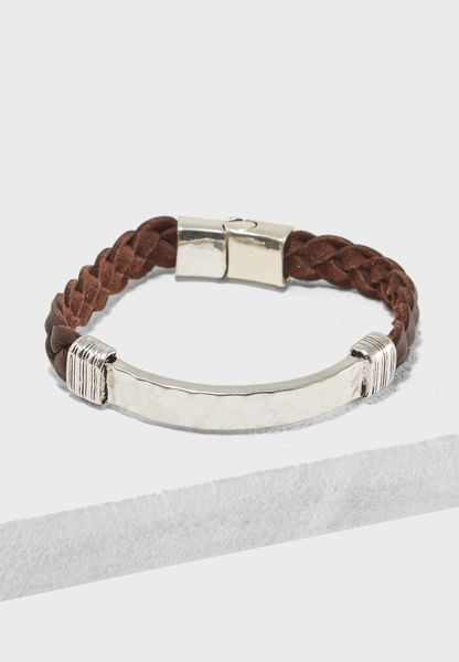Braided Bunch Bracelet