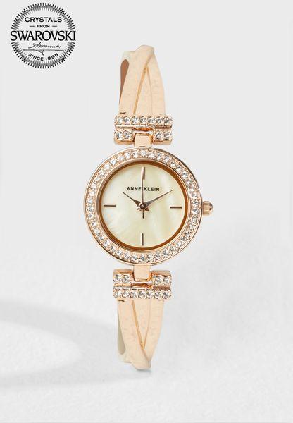 Analogue Watch & Bracelet Set