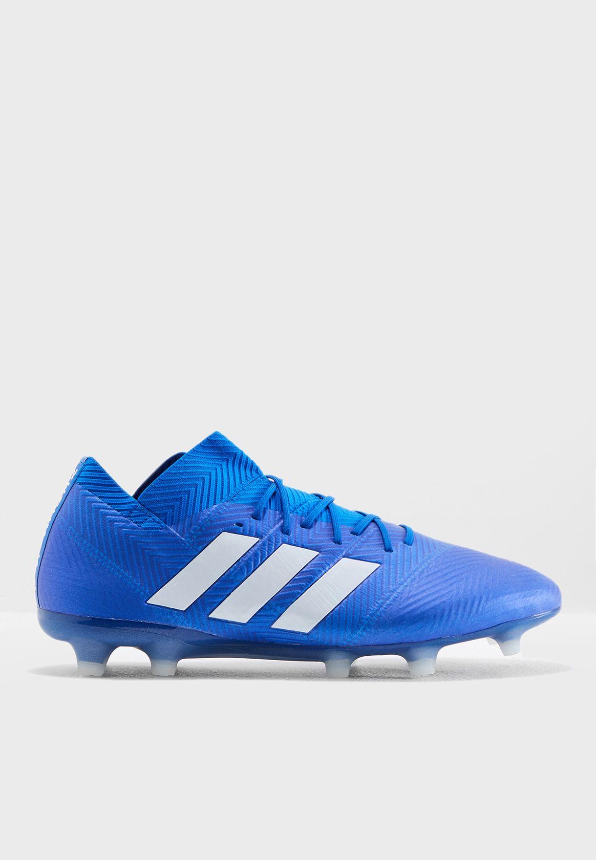 Shop adidas blue Nemeziz 18.1 FG DB2080 for Men in UAE - AD476SH49IDQ 4a095f72c3bd5