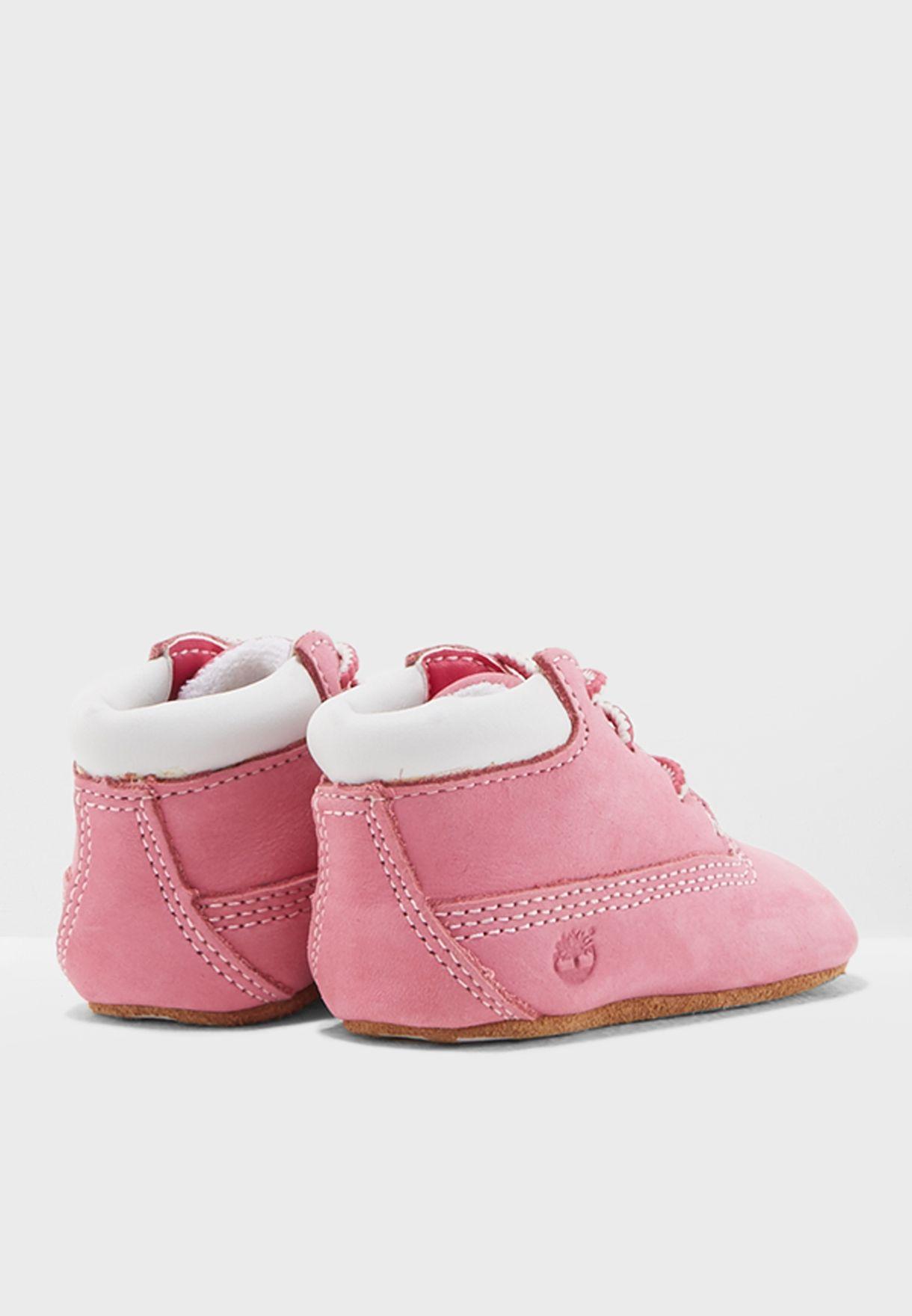 Infant Crib Bootie + Hat Set