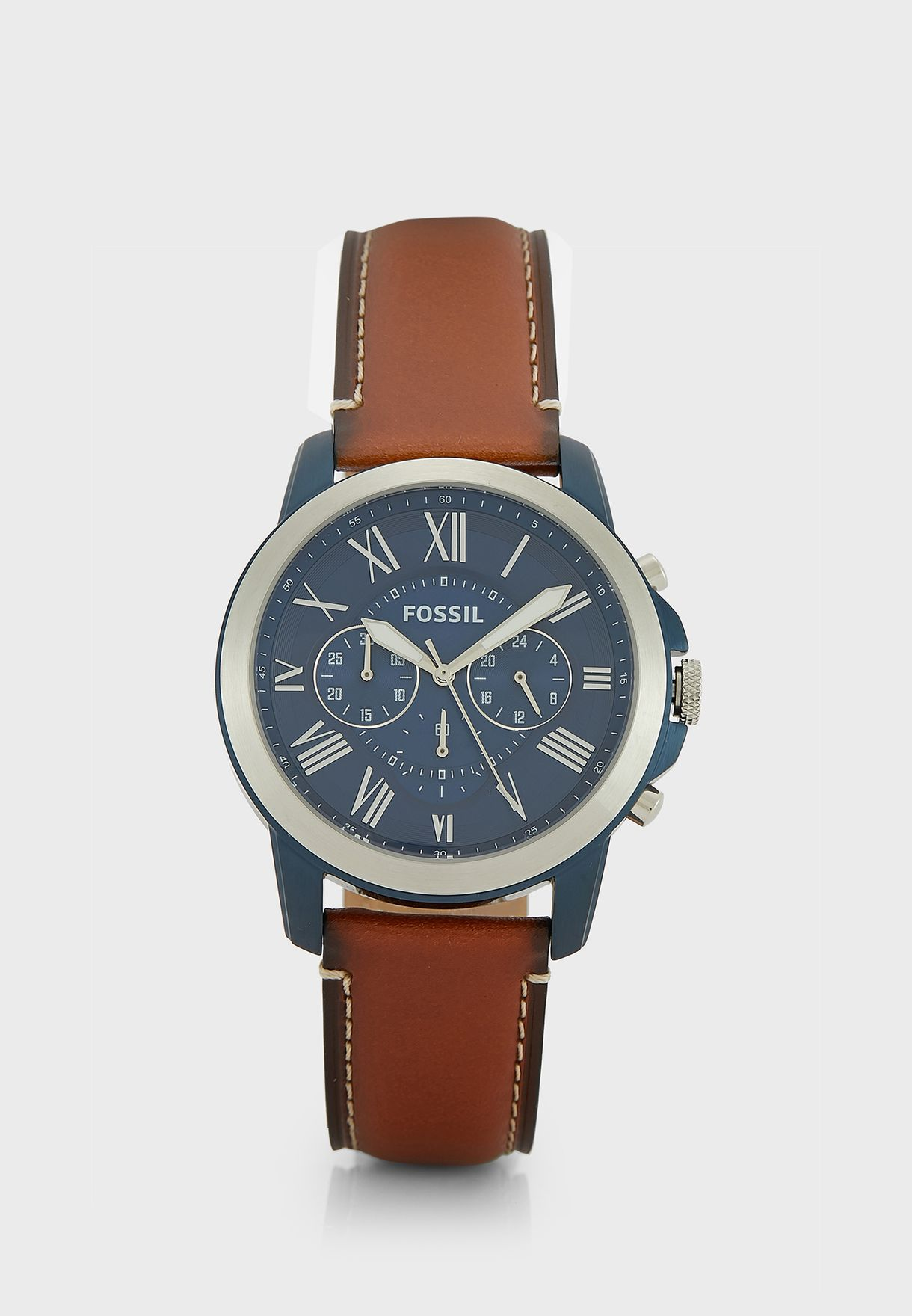 6514162ef309 Shop Fossil browns Grant Chronograph Watch FS5151 for Men in UAE ...