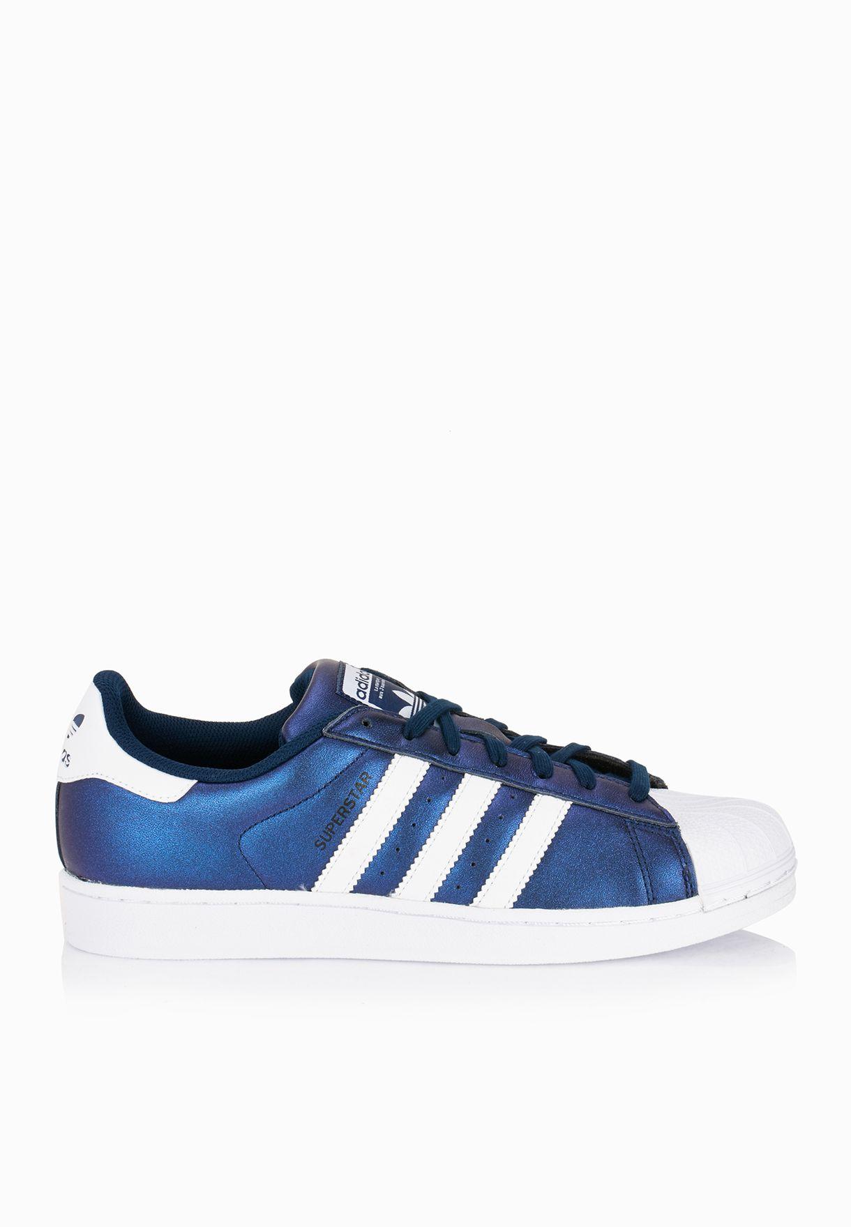 Adidas Superstar Hologram Shoes AB Swarovski Custom